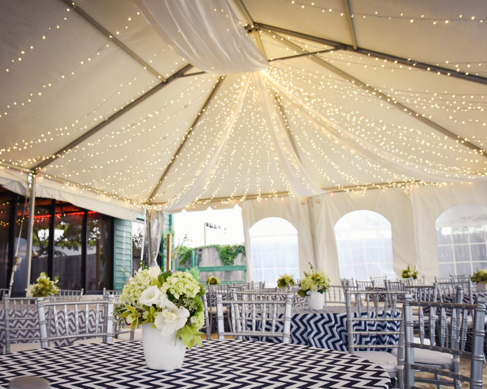 Tent Liner Draping