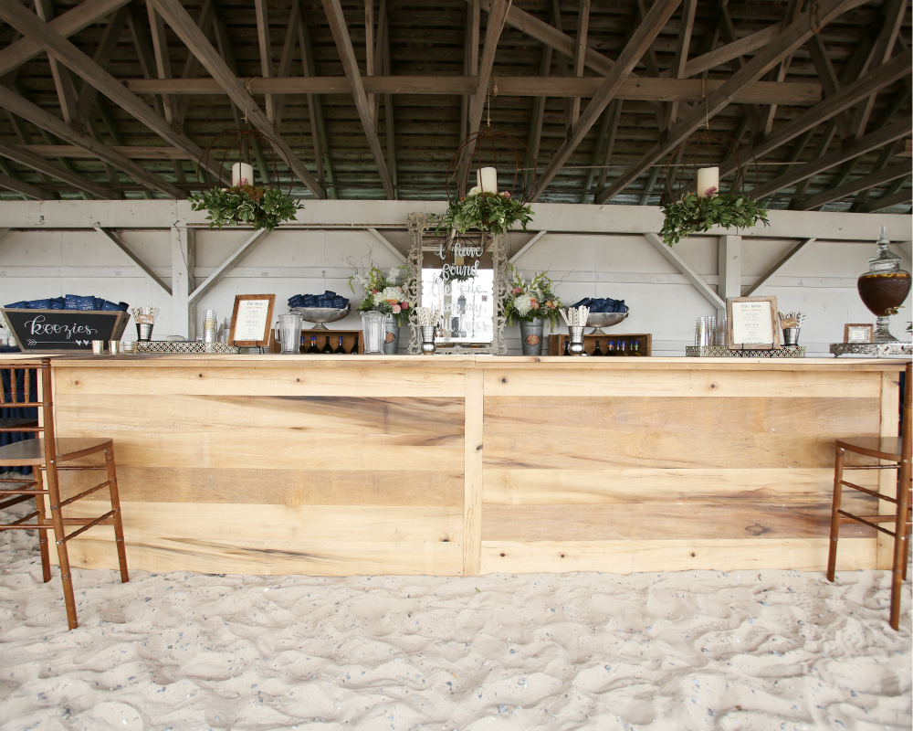 16' Custom Wooden Bar