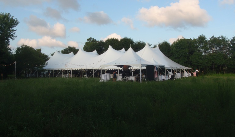 & High Tension Pole Tents